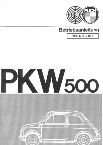 Betriebsanleitung 500S