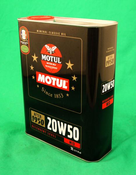 Classic Motoröl 20W50 mineralisch