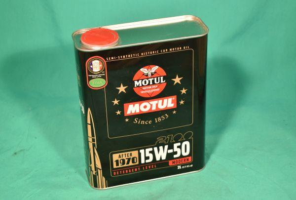 Motoröl Classic 15W50 2 Liter Motul