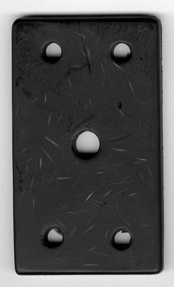 Auspuffaufhängeplattensatz Topolino