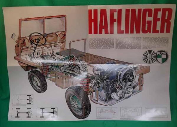 Prospekt Haflinger 1969 Reprint