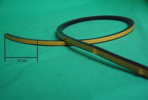Moosgummiprofil zur Werkzeugkastentür 56cm, zur Batteriekastentür 99cm / per 10 cm