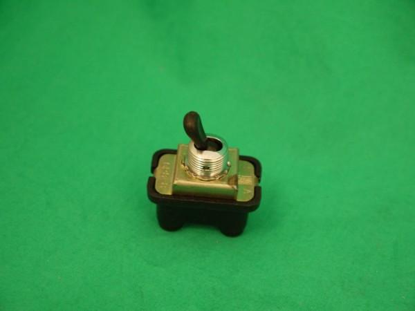 Kippschalter, mit verchromter Wippe, 4-polig Rundstecker Fiat 500
