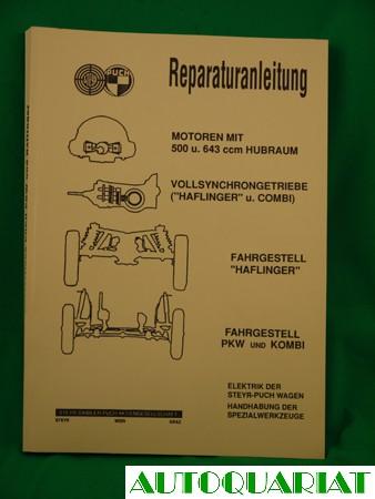 Werkstatthandbuch Steyr-Puch