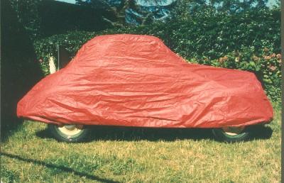 Abdeckplane Fiat Topolino 500C Limousine