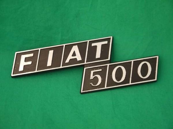 """Heckschriftzug """"Fiat 500"""" F/R"""