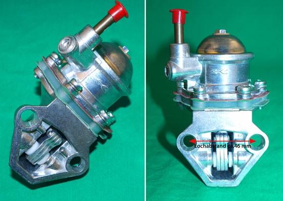 Benzinpumpe 500/126 1. Serie
