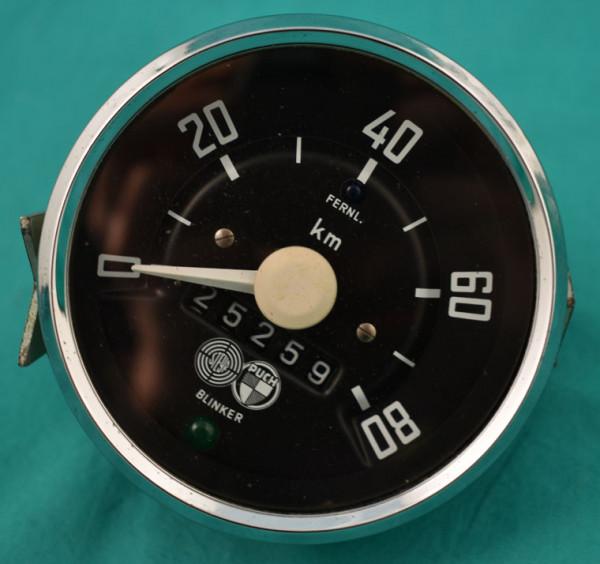 Tachometer Halflinger km/h gebraucht