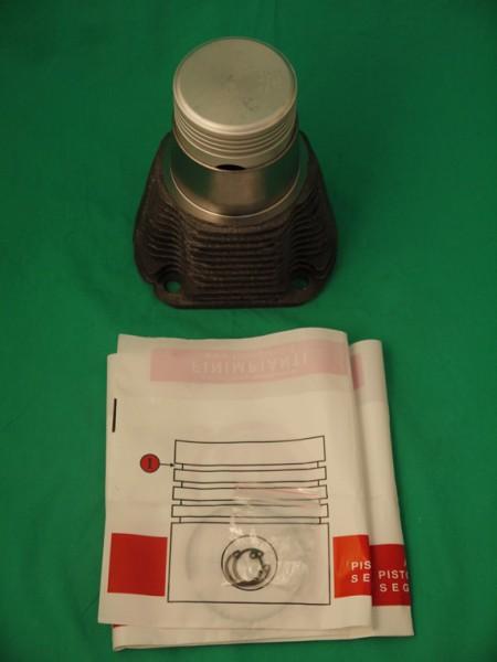 Zylinder mit Kolben 500 F