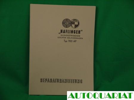 Werkstatthandbuch Haflinger