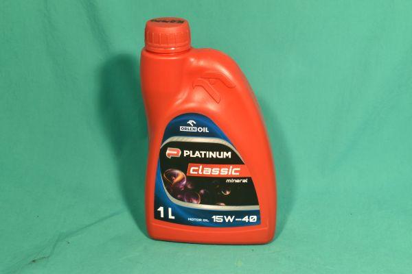 Motoröl Platinum Classic 15W-40 1Liter