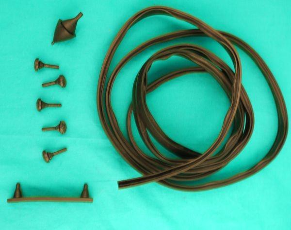 Dichtsatz Kofferdeckel mit Dichtband und Puffern