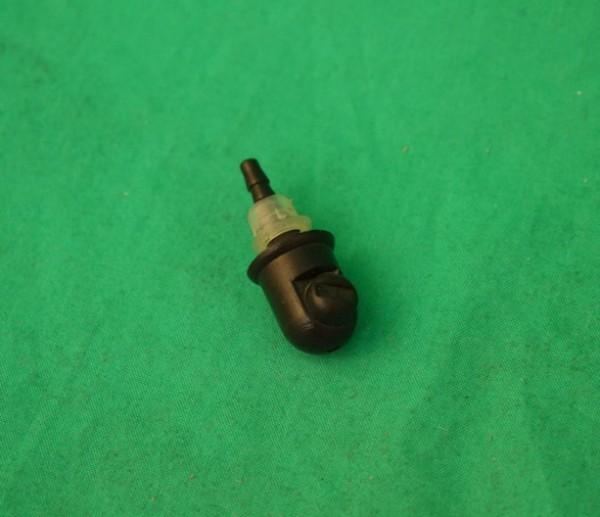 Spritzdüse Kunststoff schwarz, 15mm hoch