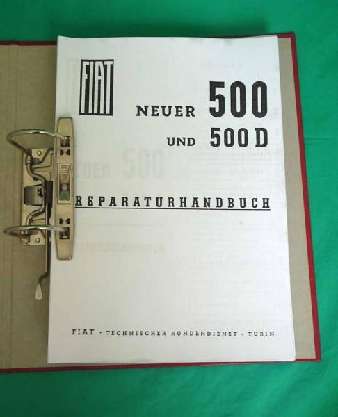 Werkstatthandbuch Fiat 500