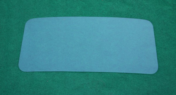 Frontscheibe Polyesterkabine original