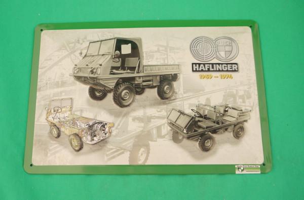 Blechschild Puch Halflinger 1959-74