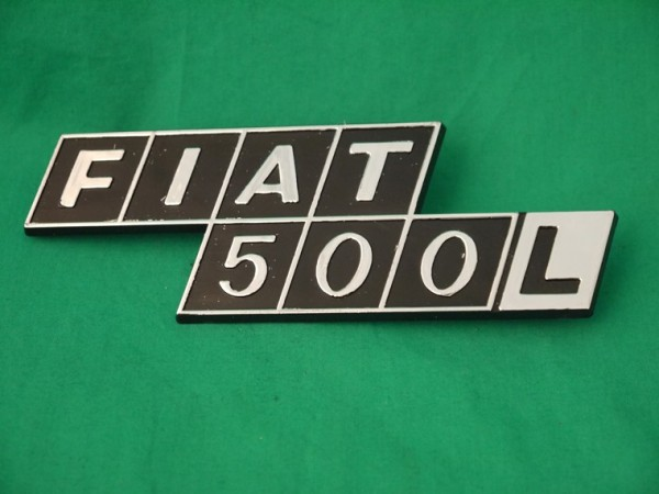 """Heckschriftzug """"Fiat 500 L"""" L"""