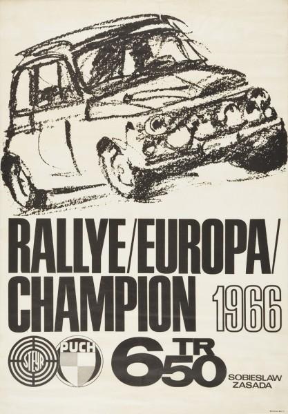 Poster 650TR Champion 1966