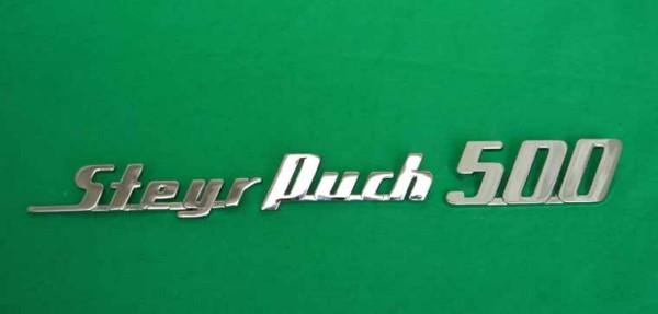 """kompletter Schriftzug """"Steyr Puch 500"""""""