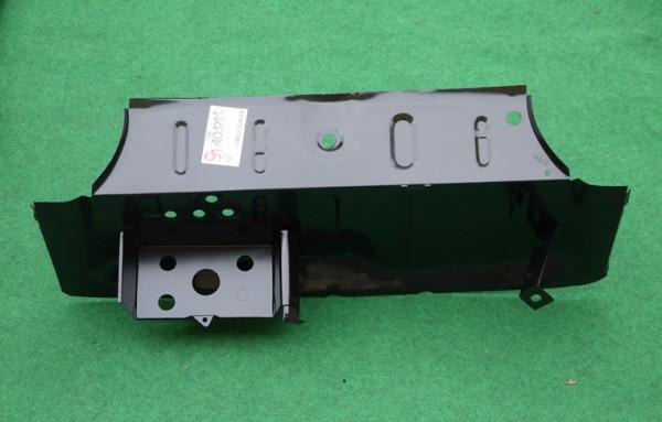 Stufenblech mit Batteriekasten